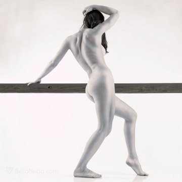 Balance Beam - fine art nude photography exhibit