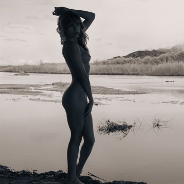 Fine art nude photography landscape