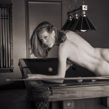 Fine art nude black and white photography exhibit