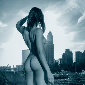 Art Nudes: New York Model Photos/Urban Art Portfolio Indiegogo crowdfunding