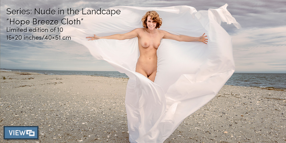 Fine art nude photography in the landscape. Original limited editions for sale