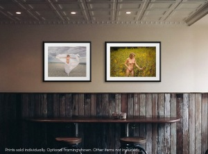 Buy nude figurative erotic art ~ Hope Breeze Cloth ~ Limited Edition, Signed Art Print