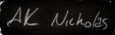 A.K. Nicholas artist signature