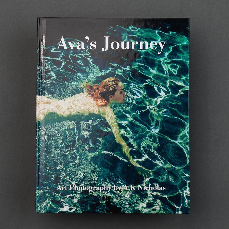 Ava's Journey Fine Art Erotic Photography Book by A K Nicholas