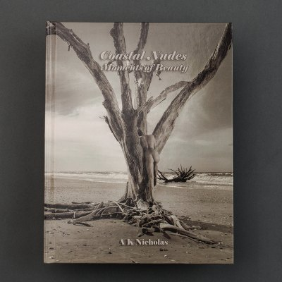 Coastal Nudes Fine Art Photography Book by A K Nicholas