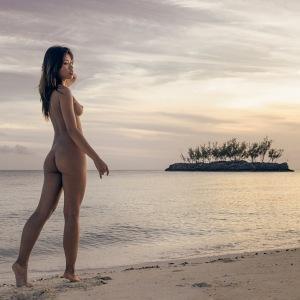 Fine art nude figure landscape photography