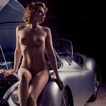 Pinup nude photographic fine art in limited edition
