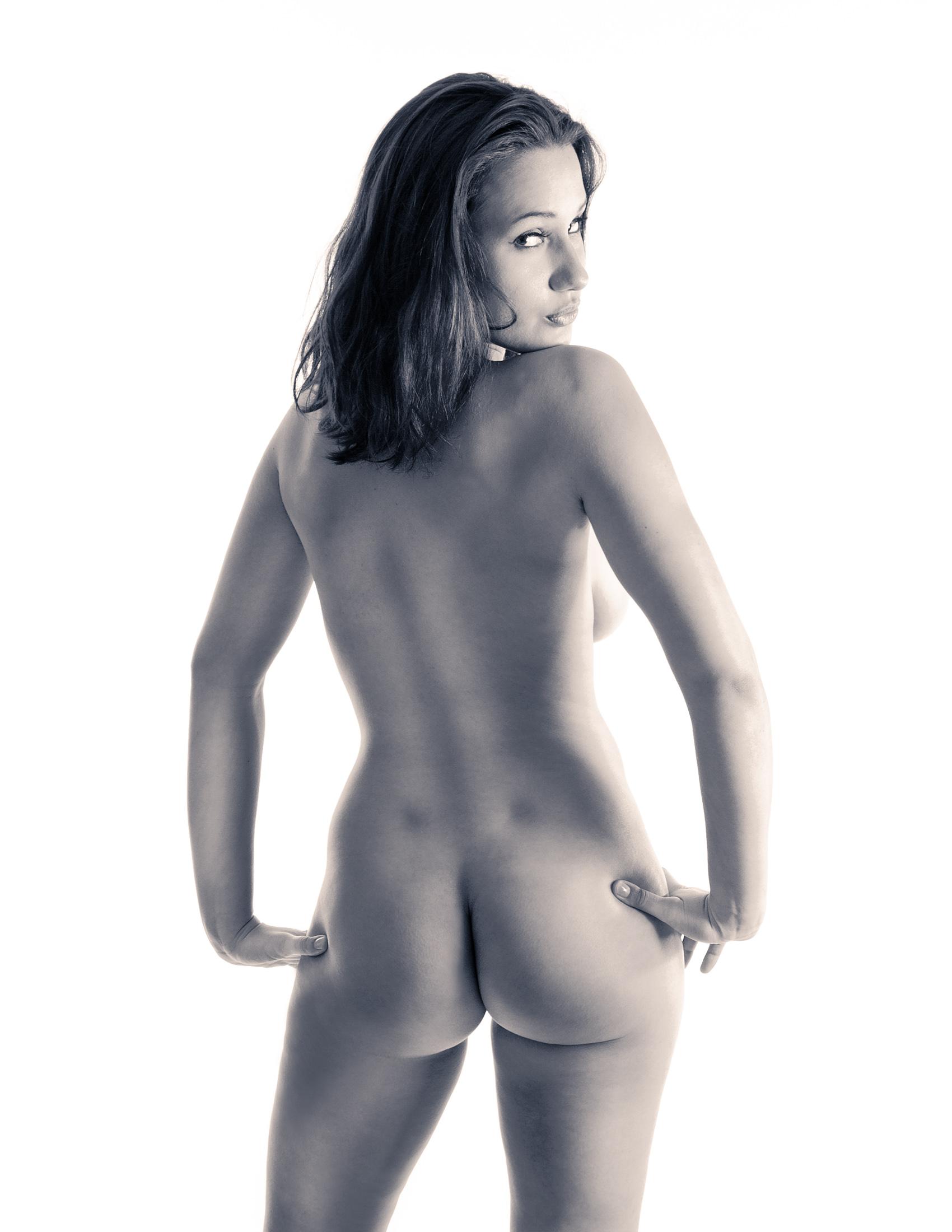 Fine art nude photography erotic pin-up girl