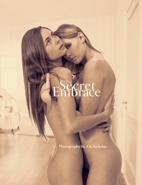The Secret Embrace art nude photobook