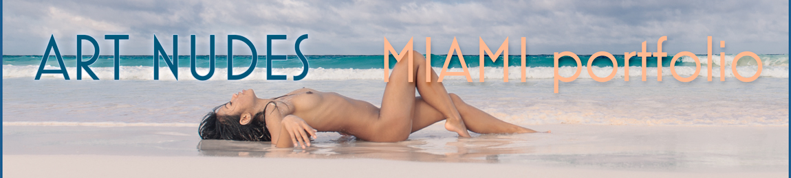 Miami Portfolio: Fine art nudes from the beach and underwater South Florida