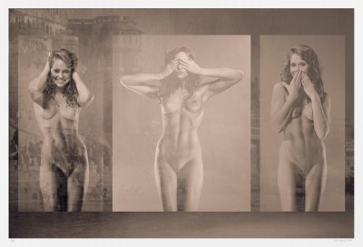 Sepia-toned nudes. original fine art and erotic photography limited edition