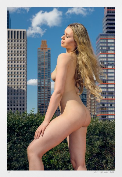 "collect nude art photography ""Midtown View of East 54th St"" original art"