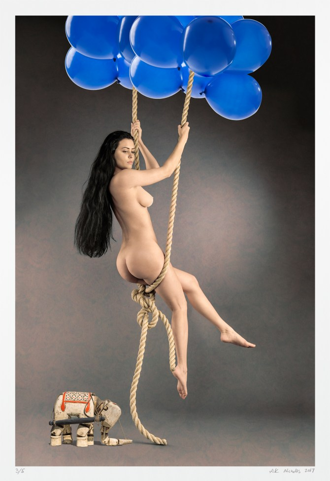 """surreal pin-up art """"Audaces Fortuna Juvat"""" (fortune favors the bold)"""