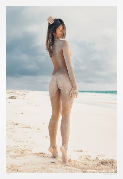 Landscape and nude, limited edition photograph, original art