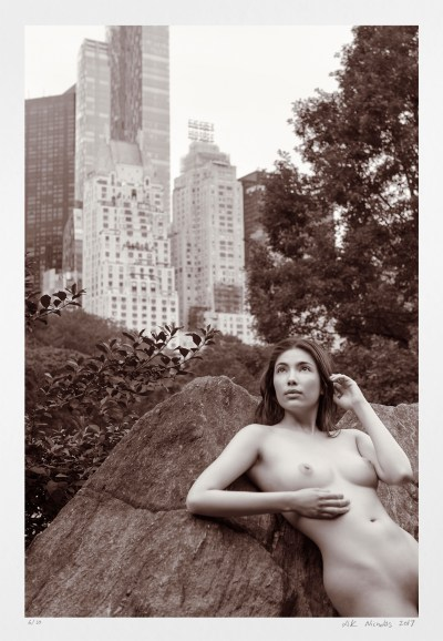 New York City nude. Original limited edition fine art photography
