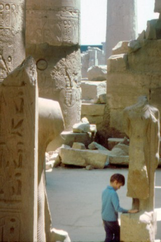 A. K. Nicholas, age 6, Egypt
