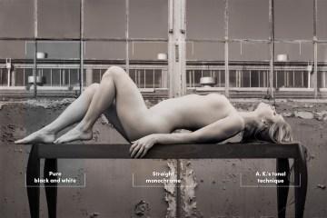 Fine art nude photography - Technical process