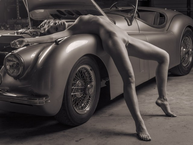 Fine art nude erotic photography book