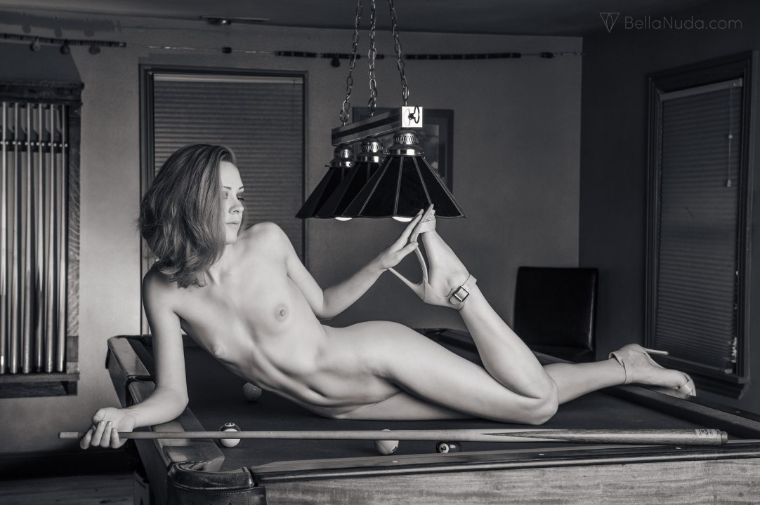 Black and white fine art nude photography exhibit