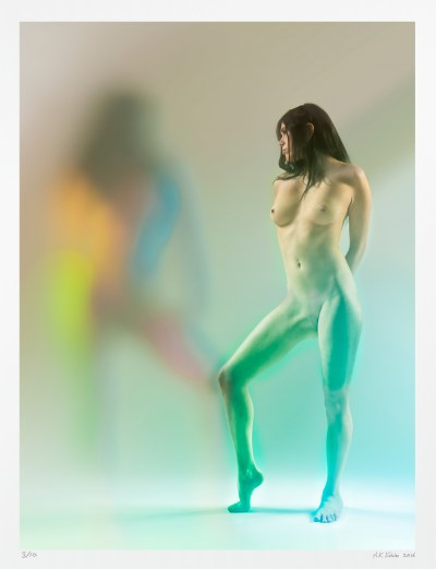 "limited edition original fine art nude photography for sale ""Tess Ghostly"""
