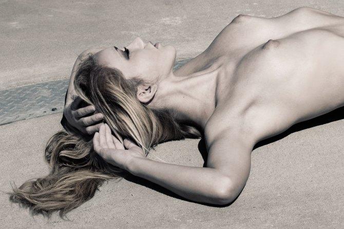 Limited edition photograph erotic art industrial nude urban exploration urbex
