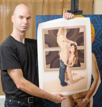 Limited edition fine art nude erotic photography