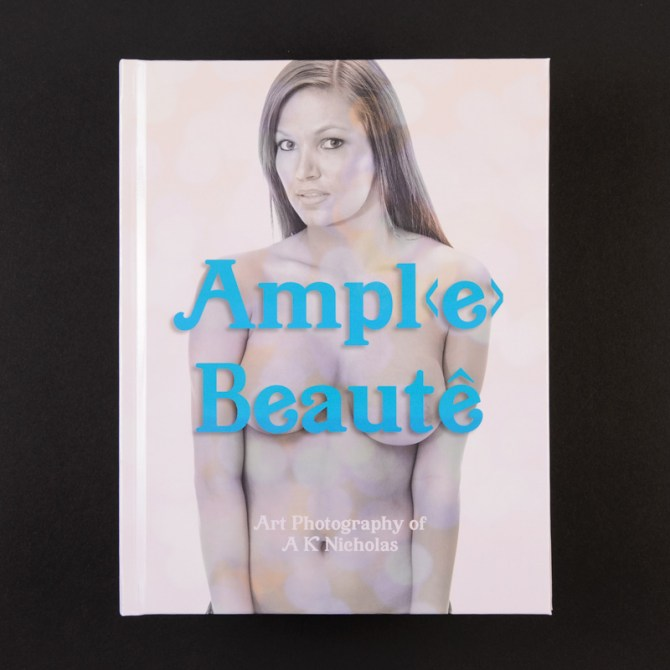 Ample Beauty pinup nude art photobook