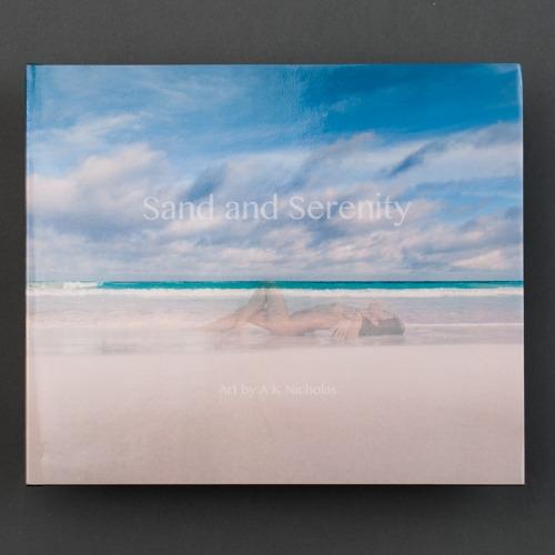 Sand and Serenity portfolio album fine art nude erotic photography