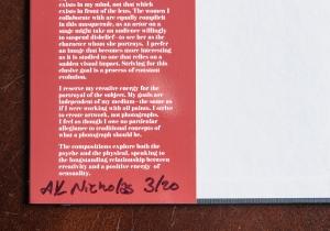 portfolio album autographed dust jacket