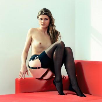 Red Sofa - Square Nudes photobook