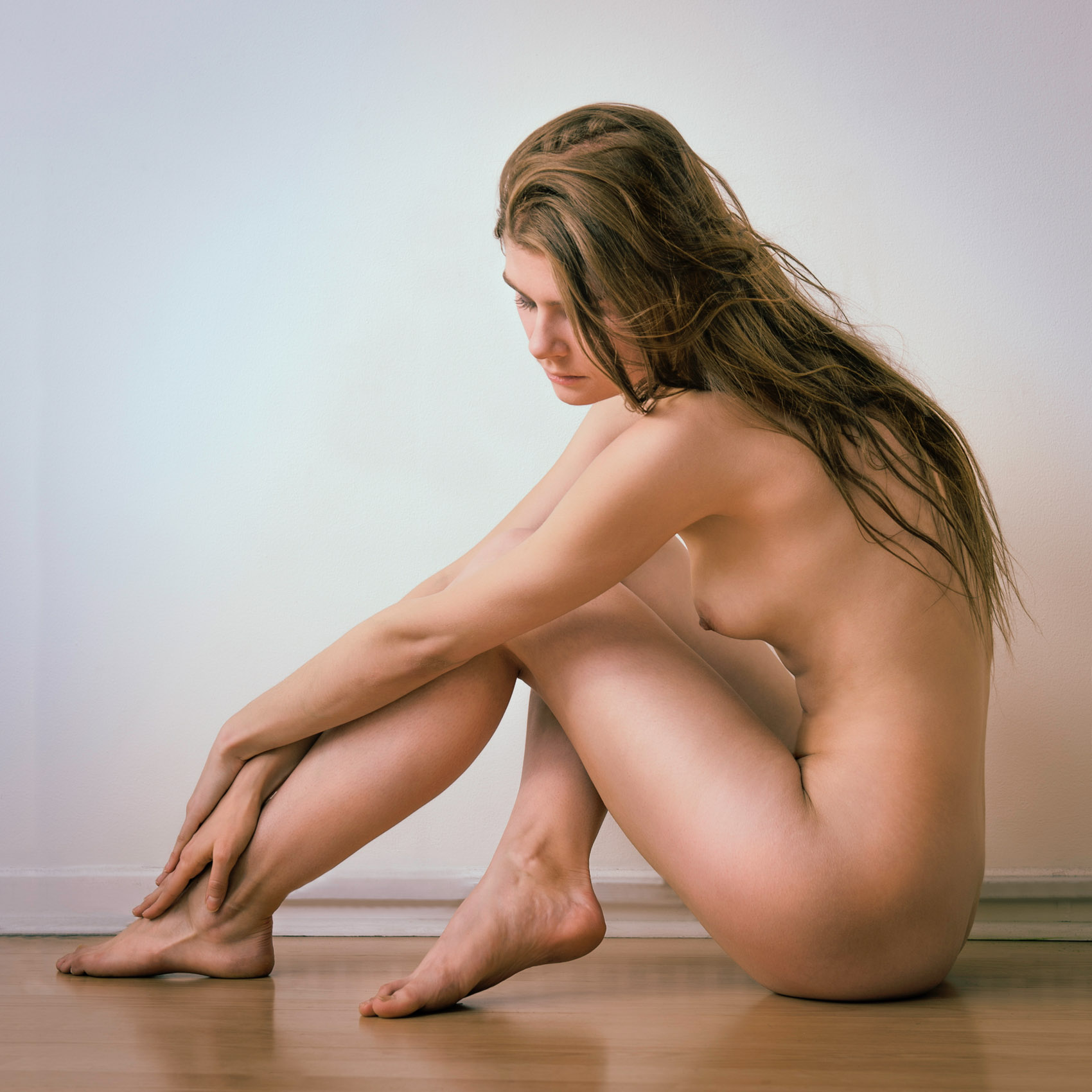 Nude artistic poses