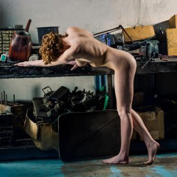 Garage - square nudes photobook