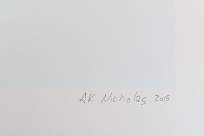Signature on artwork