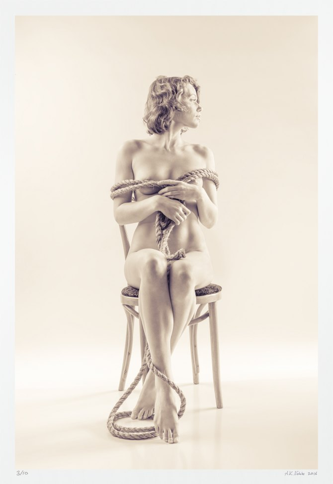 Limited edition fine art nude photograph