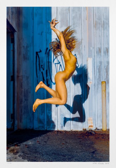 Nude dance art photograph. limited edition for sale.