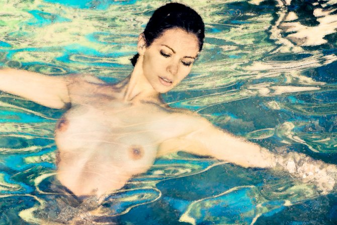 Art Nude Photograph Limited Edition Woman Water