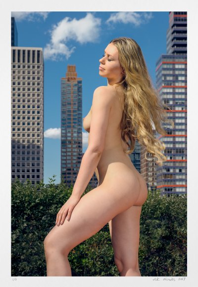 Midtown View of East 54th St art nude photography