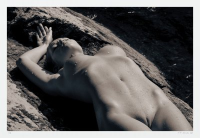 limited edition erotic art nude archival photography artist A K Nicholas