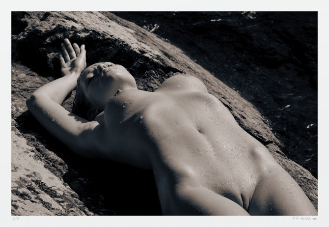 """Black and white erotic photograph. Limited edition art print """"Summer Fling"""""""