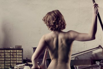 "Fine art nude photograph ""Leverage"" From a limited edition of 5"