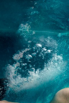 underwater nude art photograph