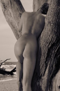 Black and white nude photography. Limited edition artwork female figure.