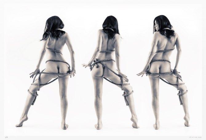 Monochrome art nudes. Limited edition original art photography
