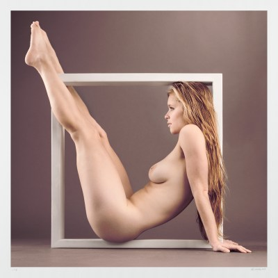 Pinup girl photograph: Art nude limited edition, signed, numbered original