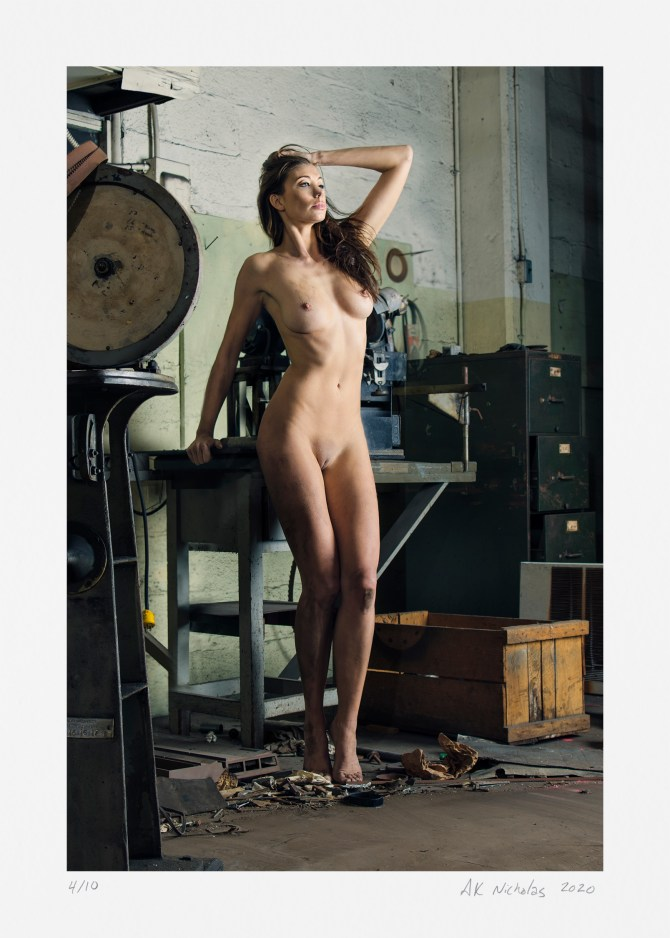 Fine art photography nude. Limited edition by A.K. Nicholas for sale