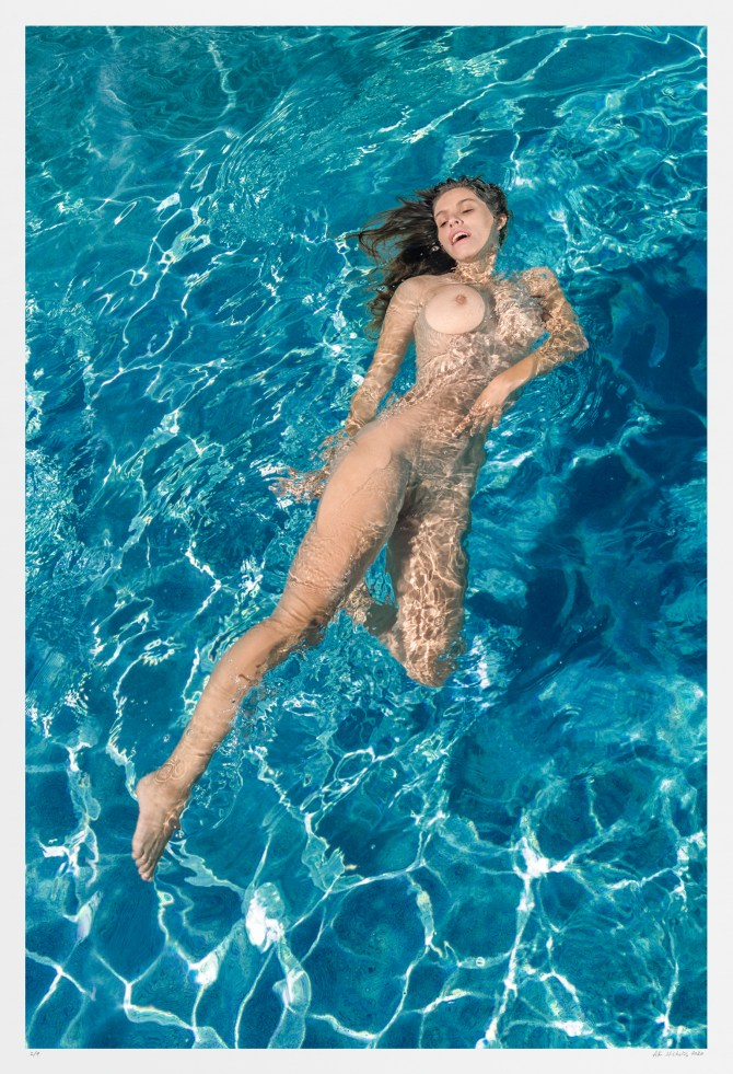 Erotic nude art photography | Woman swimming | Limited edition