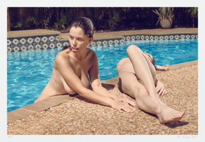 Swimming pool art direct from the artist studio. Fine art nude photography
