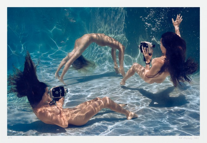 Original art photography, underwater nudes by A. K. NIcholas