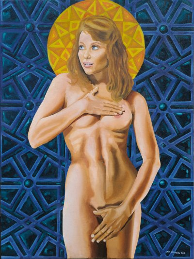 original nude oil painting