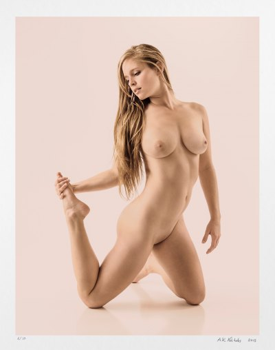 Pin-up girl photography. Nude art, limited edition for sale